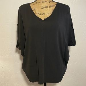 Eileen Fisher oversized, blouse, size small.